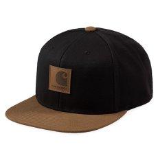 画像2: Logo Two Tone Snapback Cap Hamilton Brown/Black Black/Hamilton Brown ロゴ スナップバック キャップ 帽子 (2)