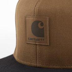 画像3: Logo Two Tone Snapback Cap Hamilton Brown/Black Black/Hamilton Brown ロゴ スナップバック キャップ 帽子 (3)