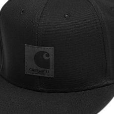 画像4: Logo Snapback Cap Black Hamilton Brown ロゴ スナップバック キャップ 帽子 (4)