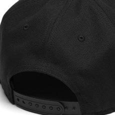 画像6: Logo Snapback Cap Black Hamilton Brown ロゴ スナップバック キャップ 帽子 (6)