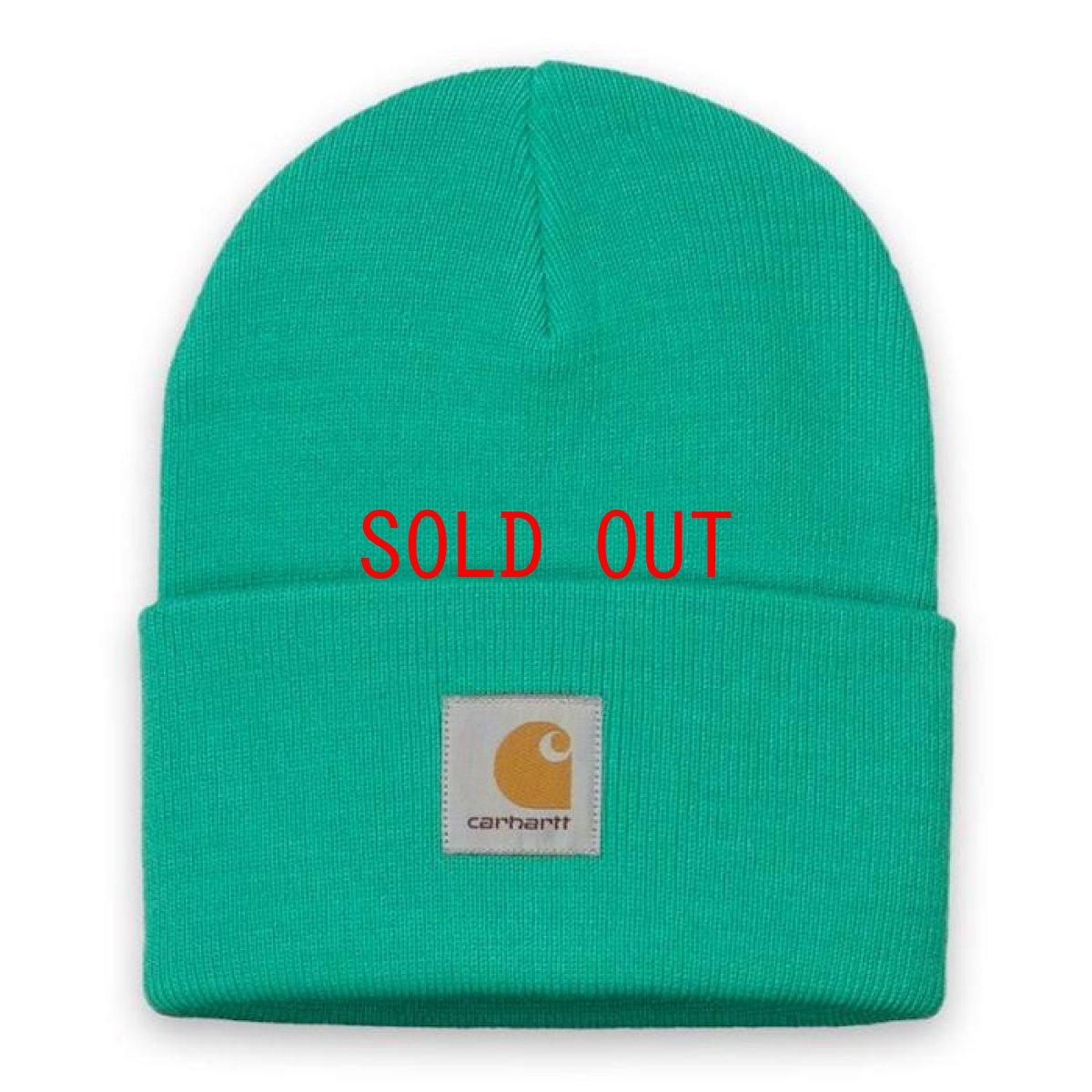 画像1: Carhartt WIP(カーハート ワークインプログレス) Acrylic Watch Hat Beanie Yoda Green Lime Yellow Pink Pop Orange ビーニー ニット帽 (1)