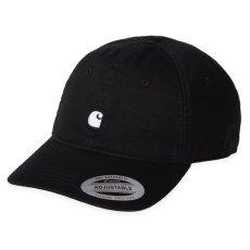 画像1: Carhartt WIP(カーハート ワークインプログレス) Madison Logo Cap Black Green White Beige ロゴ パネル キャップ 帽子 (1)
