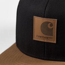 画像4: Logo Two Tone Snapback Cap Hamilton Brown/Black Black/Hamilton Brown ロゴ スナップバック キャップ 帽子 (4)