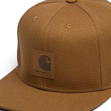 画像5: Logo Snapback Cap Black Hamilton Brown ロゴ スナップバック キャップ 帽子 (5)
