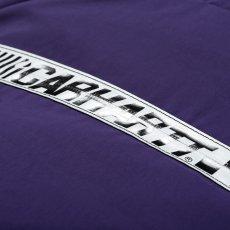 画像7: Carhartt WIP(カーハート ワークインプログレス) Senna Backpack Black Purple Lace 18.3liter 撥水加工 バックパック バッグ カバン 鞄 (7)
