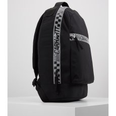画像6: Carhartt WIP(カーハート ワークインプログレス) Senna Backpack Black Purple Lace 18.3liter 撥水加工 バックパック バッグ カバン 鞄 (6)