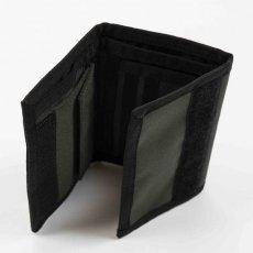 画像6: Carhartt WIP(カーハート ワークインプログレス) Payton Wallet Cypress Navy Black Olive Green Duck コーデュラナイロン コンパクト Nylon 財布 ベロクロ (6)