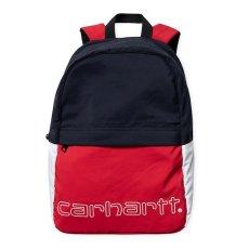 画像1: Terrce Back Pack Cardinal Dark Navy White Bag Colorblock カラーブロック 切替 バッグ カバン 鞄 (1)