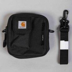 画像2: Carhartt WIP(カーハート ワークインプログレス) Essentials Bag Small Black ブラック Treehouse Green グリーン Bag in Bag バッグ イン バッグ ミニ スモール ポーチ カバン 鞄 (2)