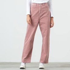画像1: Carhartt WIP W(カーハート ワークインプログレス) Carhartt WIP W(カーハート ワークインプログレス) Newport Corduroy Pants rinsed Pink women's ウィメンズ レディース コーデュロイ ピンク パンツ (1)