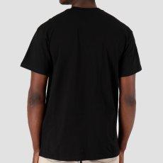 画像3: Carhartt WIP (カーハート ワークインプログレス) S/S Horizon Script Tee Black 半袖 Tシャツ (3)