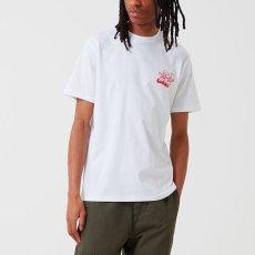 画像6: Carhartt WIP (カーハート ワークインプログレス) S/S Bene Tee White / Red 半袖 Tシャツ (6)