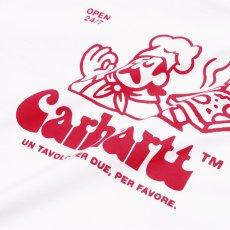 画像3: Carhartt WIP (カーハート ワークインプログレス) S/S Bene Tee White / Red 半袖 Tシャツ (3)