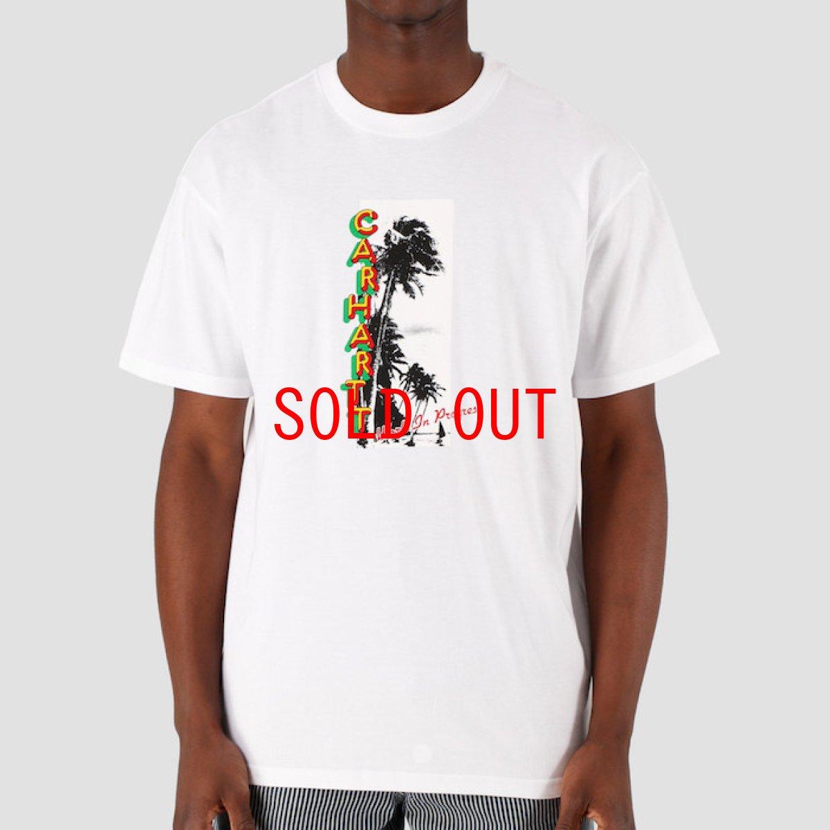 画像1: Montego S/S Tee White 半袖 Tシャツ (1)