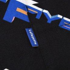画像5: 90s Polygon Logo Open Collar S/S Shirt 半袖 シャツ Black ブラック (5)
