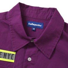 画像5: High Vis Box Logo S/S Work Shirt 半袖 シャツ Purple パープル (5)