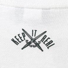 画像4: Lafayette(ラファイエット) Check Logo L/S Tee White ホワイト チェック ロゴ 長袖 Tシャツ  (4)