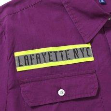 画像6: High Vis Box Logo S/S Work Shirt 半袖 シャツ Purple パープル (6)
