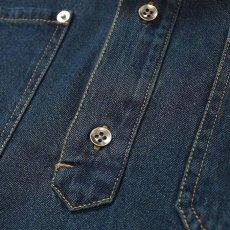 画像8: Denim Pullover S/S Shirt 半袖 デニム シャツ  (8)