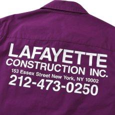 画像7: High Vis Box Logo S/S Work Shirt 半袖 シャツ Purple パープル (7)
