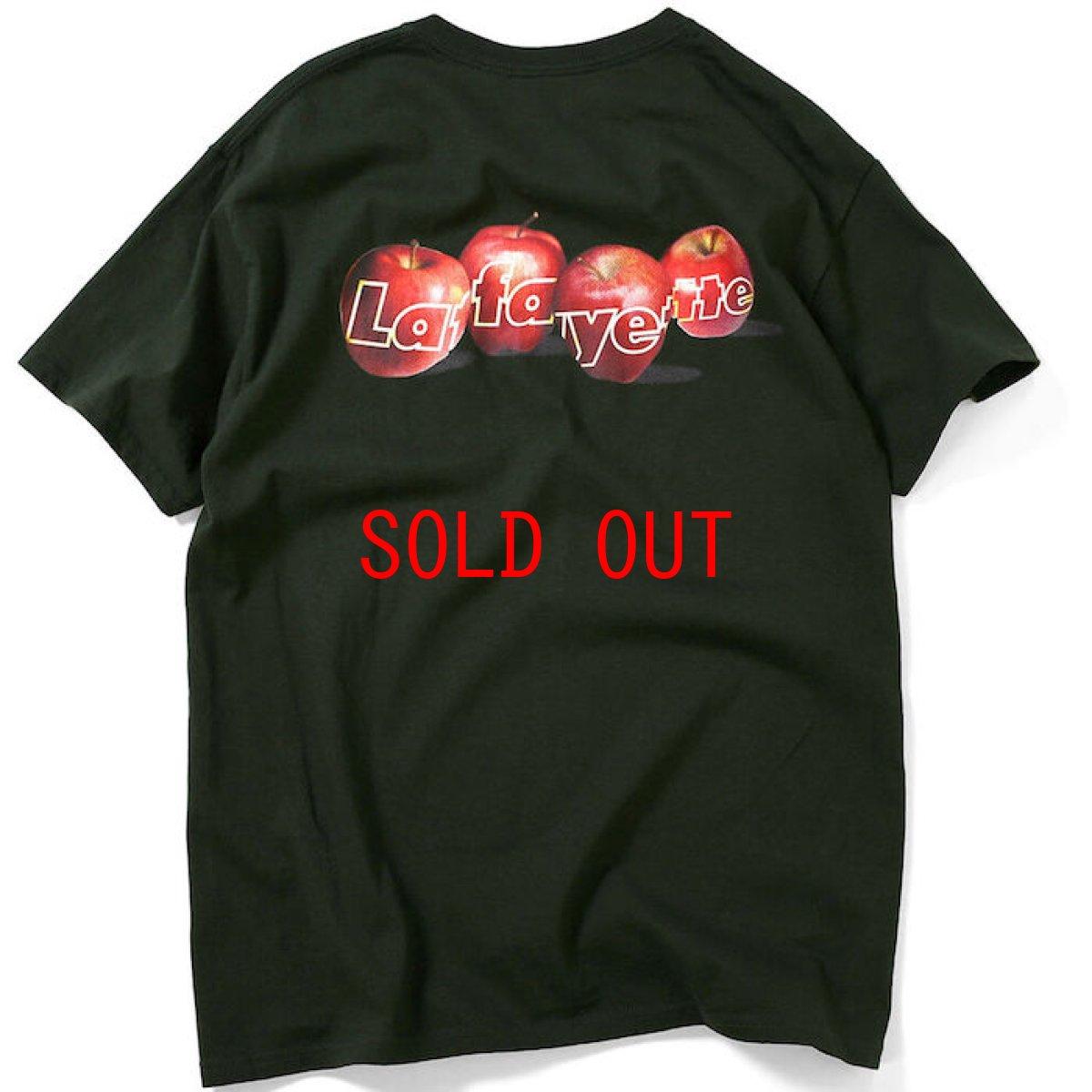 画像1: Lafayette(ラファイエット) Big Apple Pocket S/S Tee Forest Green ポケット Relax 半袖 Tシャツ (1)