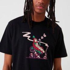 画像1: Carhartt WIP (カーハート ワークインプログレス) S/S Silkworm Tee Black ブラック 半袖 Tシャツ  (1)