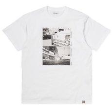 画像2: Carhartt WIP (カーハート ワークインプログレス) S/S Suraj Bhamra Reverse Tee 半袖 フォト Tシャツ  (2)