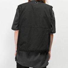 画像4: Uncle Milty Fishing Vest Black ミリティー フィッシング ベスト ブラック 黒 Outdoor Military メンズ ユニセックス  (4)