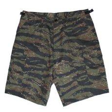 画像2: Military Cargo Shorts ミリタリー カーゴ ショーツ Tiger Camo (2)