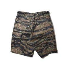 画像3: Military Cargo Shorts ミリタリー カーゴ ショーツ Tiger Camo (3)