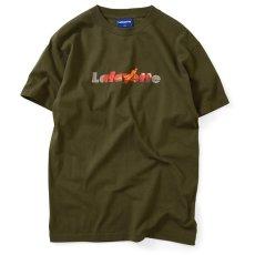 画像1: × Killiman Jah Low Works キリマンジャロウワークス Mind Power Logo Tee 半袖 ロゴ Tシャツ Olive Green オリーブ (1)