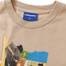 画像2: Lafayette(ラファイエット) × Killiman Jah Low Works キリマンジャロウワークス Behind Themask Tee 半袖 Tシャツ Sand Beige サンド ベージュ (2)