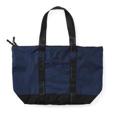 画像3: 【SALE】Equipment Logo Nylon Tote Bag トートバック Navy ネイビー (3)