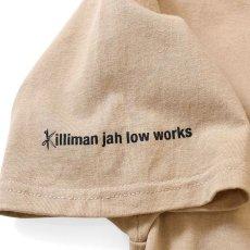 画像3: Lafayette(ラファイエット) × Killiman Jah Low Works キリマンジャロウワークス Behind Themask Tee 半袖 Tシャツ Sand Beige サンド ベージュ (3)