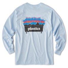 画像3: Interbreed(インターブリード) Plastic L/S Tee White 長袖 Tシャツ (3)