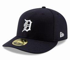 画像1: New Era(ニューエラ)LP 59Fifty Detroit Tigers baseball cap MLB デトロイト タイガース オンフィールド ホーム Classic オーセンティック クラシック MLB 公式 Official (1)