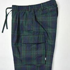 画像4: Comfy Cargo Pants カーゴ パンツ Check Blackwatch ブラックウォッチ イージー パンツ 9部丈 (4)
