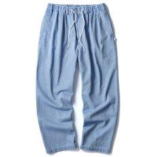 画像1: Indigo Relax Trouser  (1)