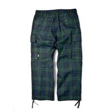 画像3: Comfy Cargo Pants カーゴ パンツ Check Blackwatch ブラックウォッチ イージー パンツ 9部丈 (3)