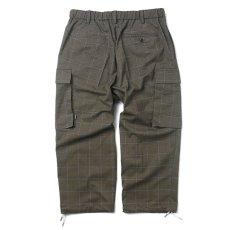画像2: Plaid Comfy Cargo Pants カーゴ パンツ Check チェック (2)