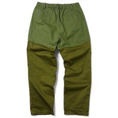 画像2: Mixed Chino Relax Trouser Pants タック イージー パンツ (2)