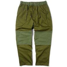 画像1: Mixed Chino Relax Trouser Pants タック イージー パンツ (1)