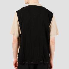 画像4: Carhartt WIP (カーハート ワークインプログレス) S/S Lane Shirt Wall Black 半袖 ワーク シャツ  (4)