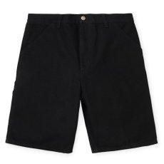 画像2: Carhartt WIP (カーハート ワークインプログレス) Single Knee Short ダック ショーツ Duck Black (2)