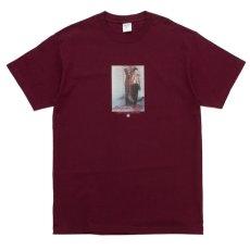 画像2: Just A Jigolo S/S Tee Wine Red Maroon 半袖 Tシャツ (2)