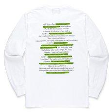 画像4: Highlighter Pocket L/S Long Sleeve Tee Notorious BIG White 長袖 Tシャツ Biggie (4)