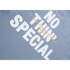 画像4: Nothin' Special(ナッシン スペシャル) Logo L/S Long Sleeve Tee Light Blue 長袖 Tシャツ (4)