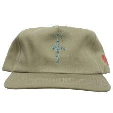 画像2: Cactus Jack(カクタスジャック) × Jordan Brand(ジョーダン) × Nike(ナイキ) Travis Scott HITR highest Swoosh Hat Olive Green IN THE ROOM Cap キャップ 帽子 Jordan オリーブ グリーン (2)