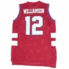 画像3: Headgear Classics(ヘッドギア クラシックス) Zion Williamson 12 Spartanburg Day Basketball Jersey ザイオン ウィリアムソン ゲーム シャツ 復刻 (3)