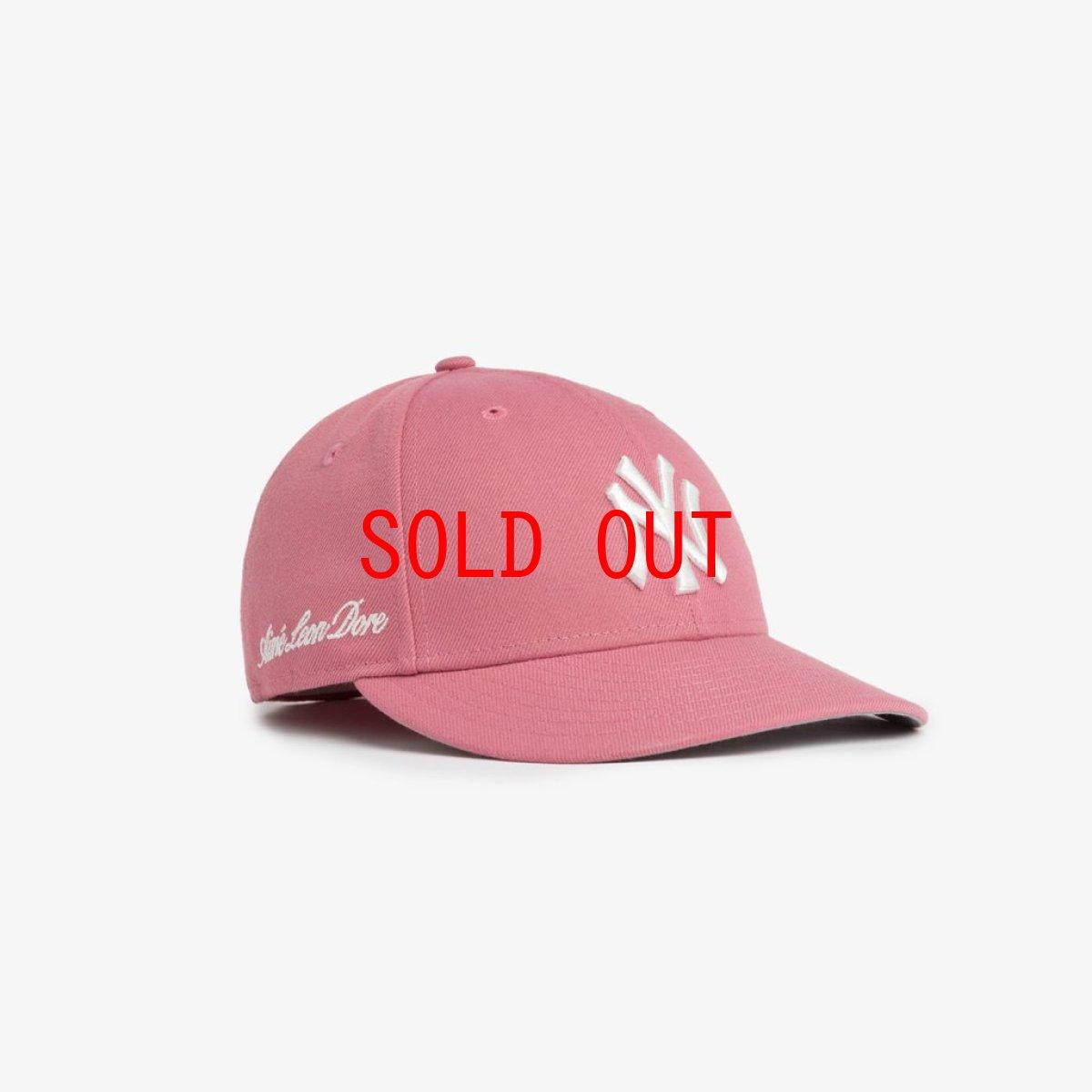 画像1: Aime Leon dore(エイメ レオン ドレ) × New Era (ニューエラ) LP 59Fifty Cap NewYork Yankees  Pink White ニューヨーク ヤンキース Kith ネイビー ホワイト (1)